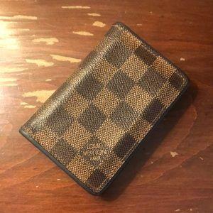 Louis Vuitton men's pocket organizer